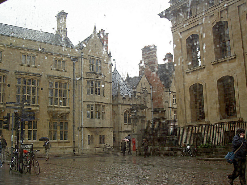 Rainy Oxford Afternoon