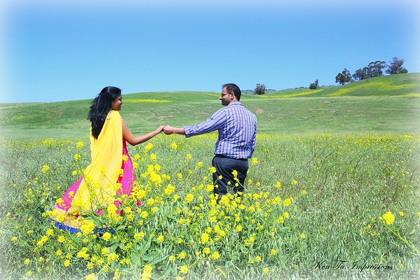 Raj & Geetha's Post Wedding Offsite Shoot