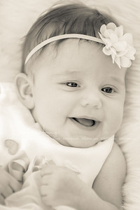 Aubry 4 Month Portraits