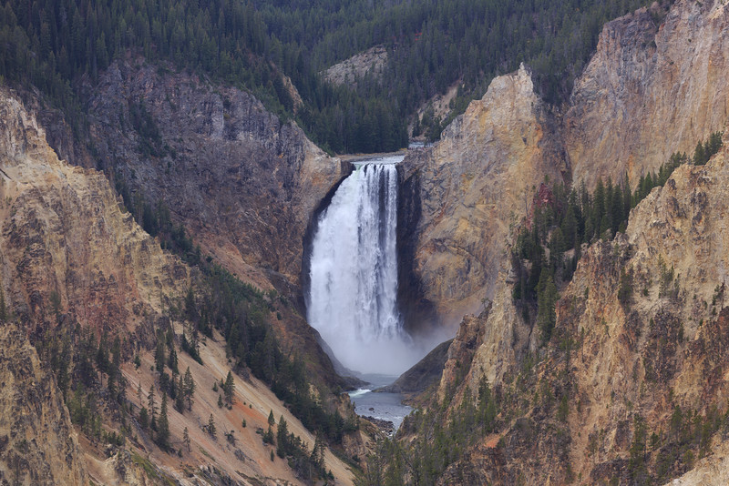 Lower Falls of the Yellowstone 003