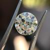 3.02ct Old European Cut Diamond, GIA Q/R VS1 53