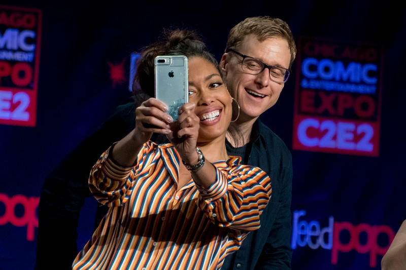 Gina Torres and Alan Tudyk
