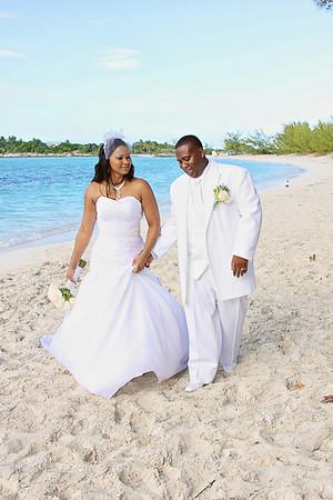 Mal & Kim | Bahamas Wedding | St. Andrew's Anglican Church | Exuma, Bahamas