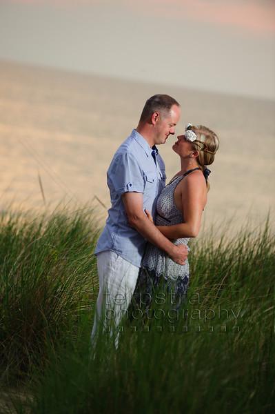 Greg and Andrea's Lake Michigan Wedding