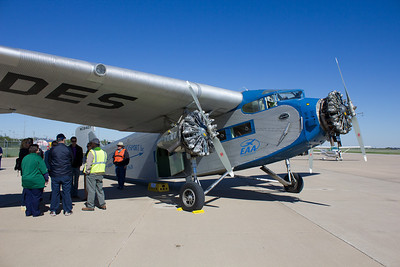 Ford Tri-Motor at Spinks Field