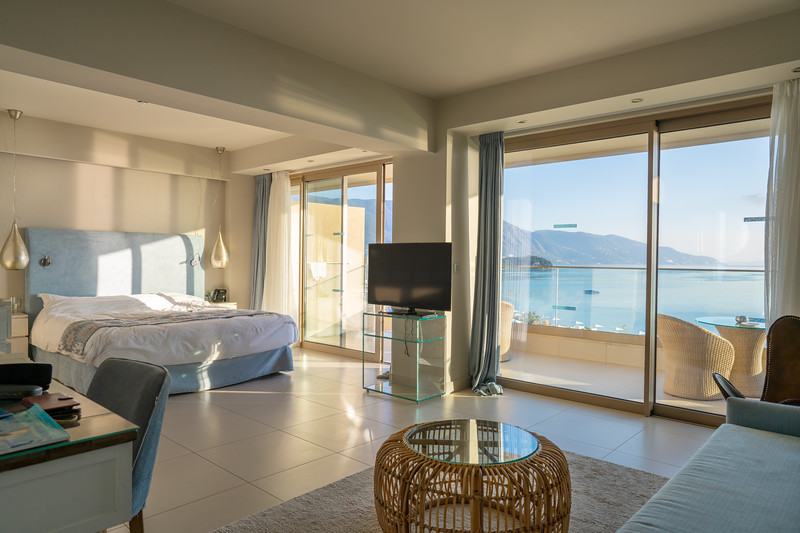 Panorama Junior Suite at the Ikos Dassia, Corfu