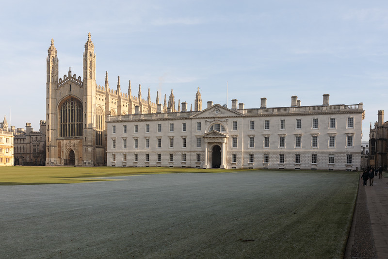 King's College, Cambridge on a Frosty Day