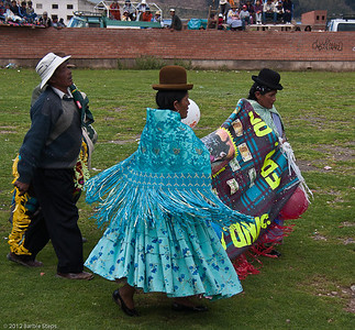 Bullfight in Copacabama, Bolivia