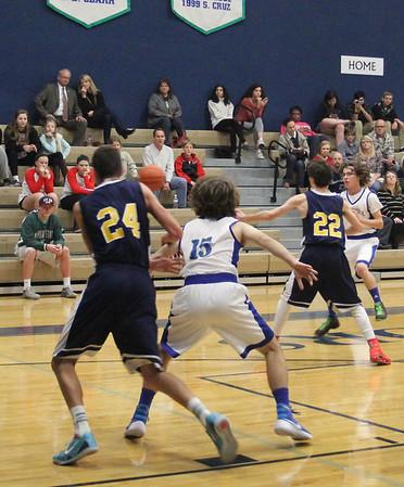 Varsity Boys Basketball vs Dallas Academy 12.4