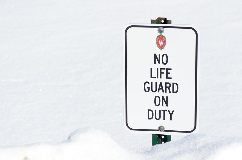 No Life Guard On Duty
