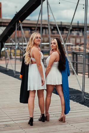 Michaila and Chelsea Graduation