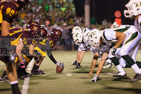 Simi Valley H.S. Football vs. Royal (Simi Valley Homecoming) 10-21-11