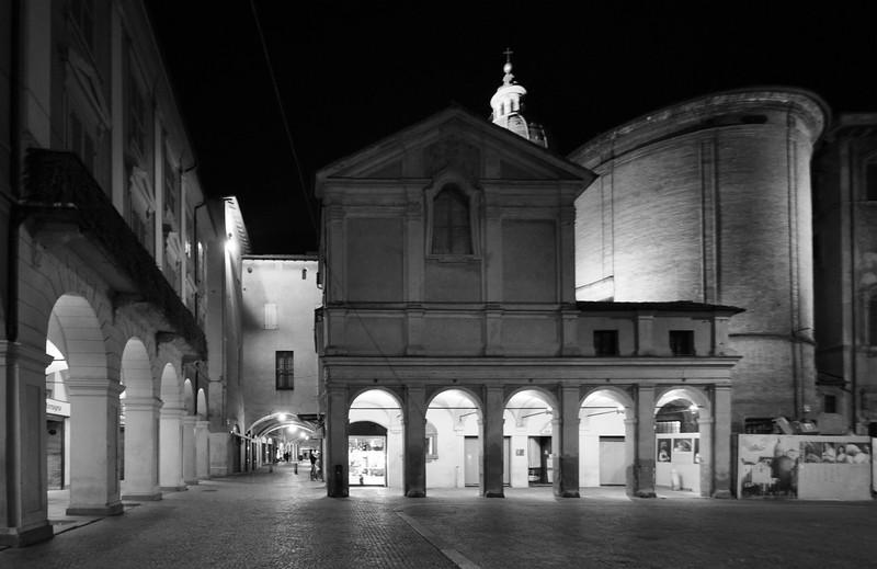 Piazza San Prospero - Reggio Emilia, Italy - November 12, 2009