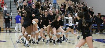 2016 Mountain Pointe vs Hamilton Girls Volleyball - State Semifinals 11-8-16