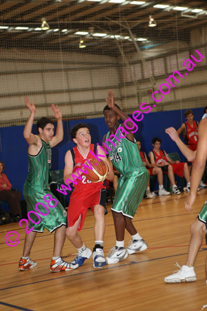 U/16 M2 Hornsby Vs Norths 1-6-08