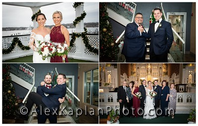 Wedding in Clark's Landing Yacht Club, Point Pleasant, NJ by Alex Kaplan Photo Video Photobooth