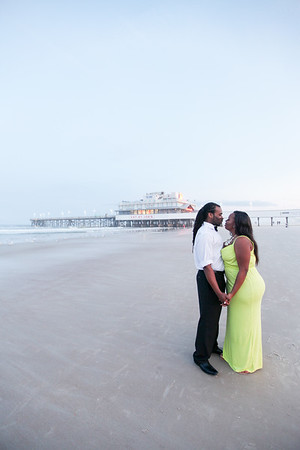 Engagement Session, Daytona Beach