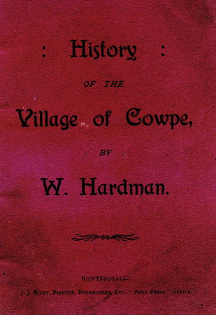 Cowpe - History Of The Village, by W. Hardman