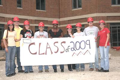 Commencement Week 2009 Senior Tour of new Ohio Union
