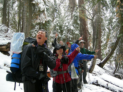 Silliman Navpack Snow Camp Sept. 07