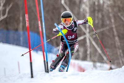 Girls First Run Slalom