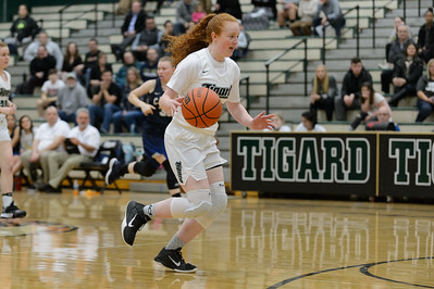 Tigard High School Girls Varsity Basketball vs Canby