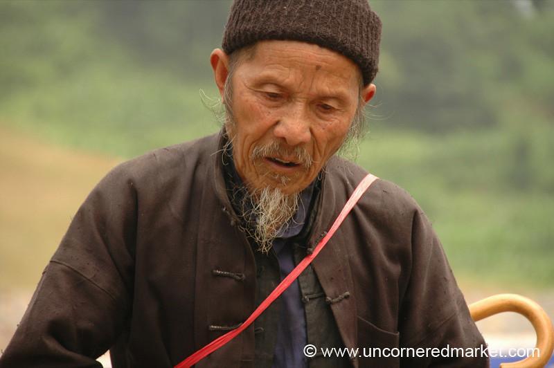 Old Chinese Man - Guizhou Province, China