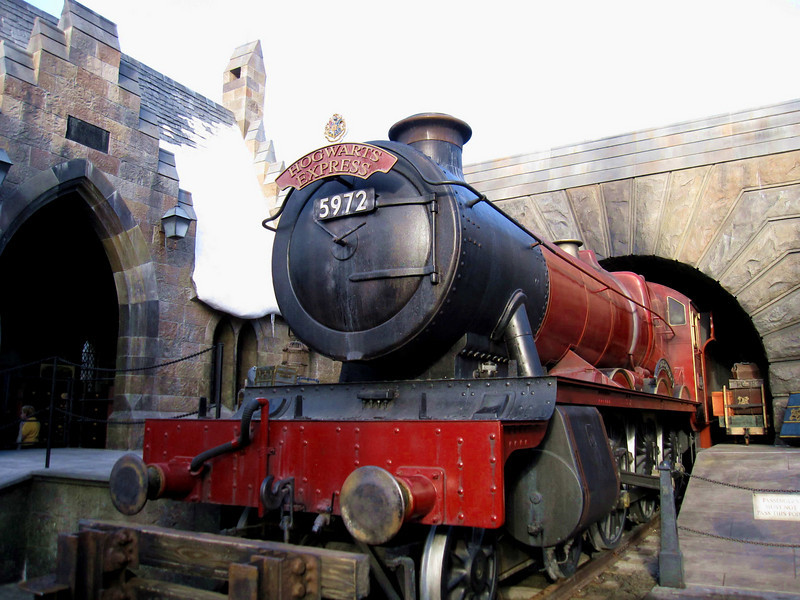 The Hogwarts Express at the Wizarding World of Harry Potter, Universal Studios Orlando