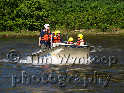 Safety First Fire Co. - Water Rescue Drill
