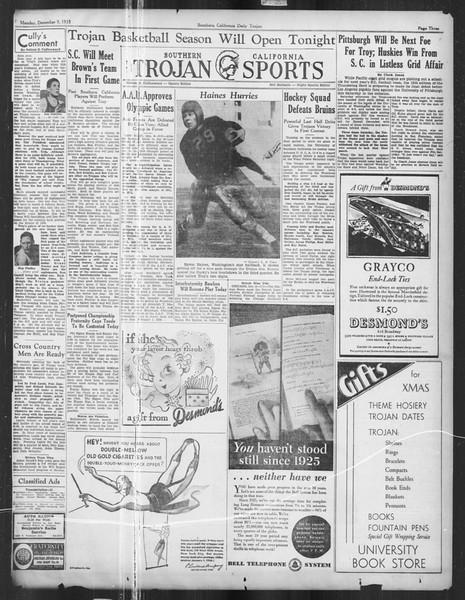 Daily Trojan, Vol. 27, No. 53, December 09, 1935