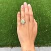 5.01ct Art Deco Opal and Diamond Ring 16