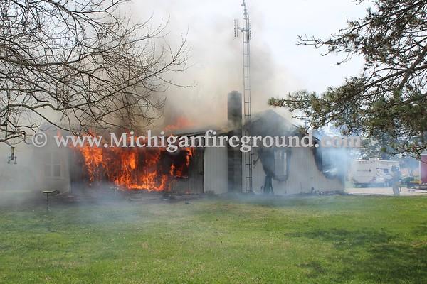 5/9/18 - Stockbridge house fire, 2254 Burden Rd
