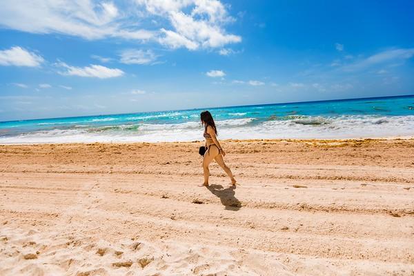 Michelle Cancun Beach