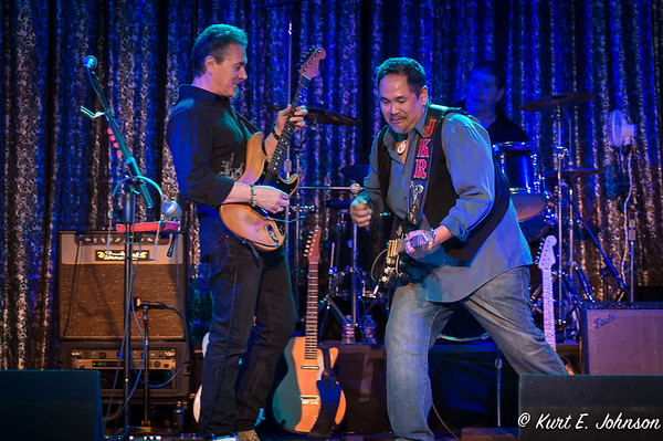 Jason King with the Buddy Emmer Blues Band at Harrah's Tuesday Blues Night 02-16-2016