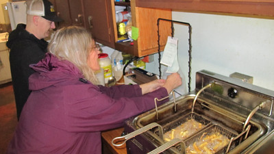 Lenten Food Sale, Middleport Fire Company, Middleport (3-21-2014)