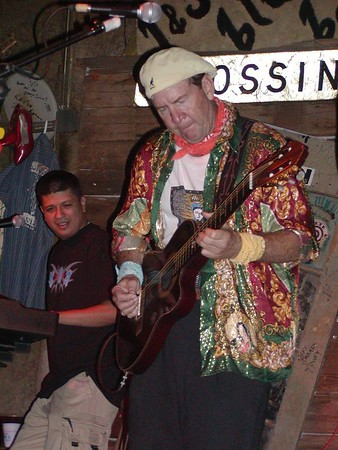 """Joe """"King Carrasco"""" at J and J's Sports Bar in Ft Worth"""