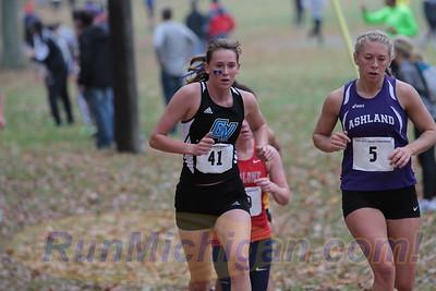 Womens 6K @ 3200m - 2015 GLIAC XC Championships