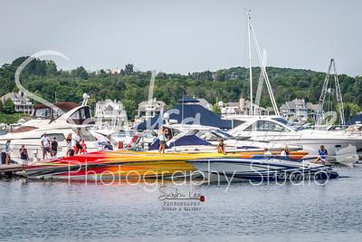 Boyne Thunder Boats come to Bay Harbor Fun Run - Photographer Bay Harbor - Petoskey - Naples