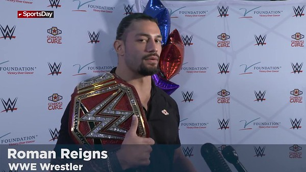 Roman Reigns - Childrens Health / Connors Cure Sept. 17, 2018