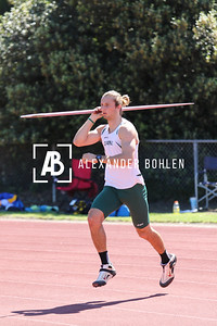 2015 Cal Poly Track Throwing Events