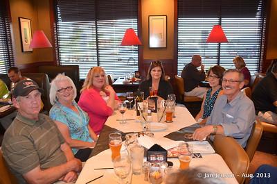 Old ironworker buddies & friends reunion Aug. 8, 2013