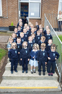 The New Primary 1 class at St Joseph's PS Bessbrook. R1539015
