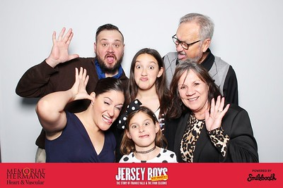 memorial hermann heart & vascular presents smilebooth at jersey boys | day 3