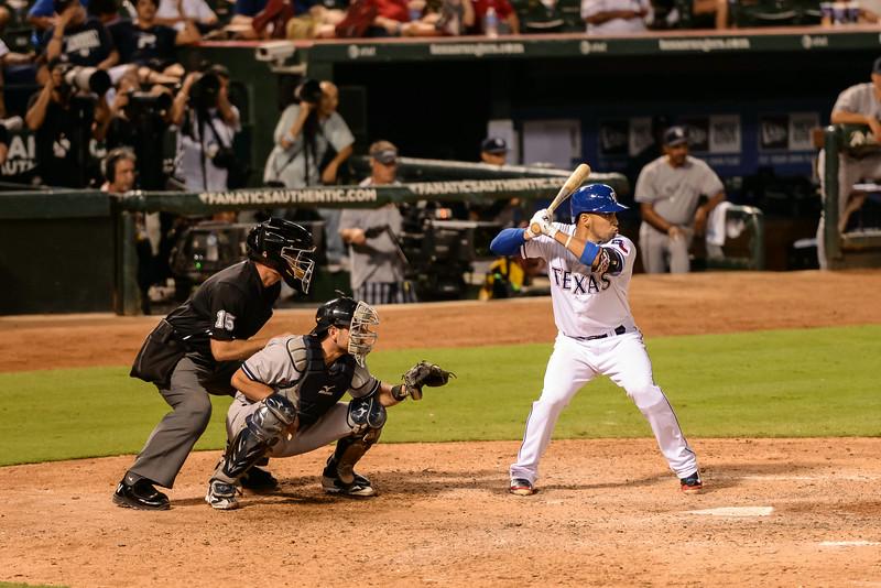 2014-07-30 Yankees Rangers 029 (Chirinos).jpg