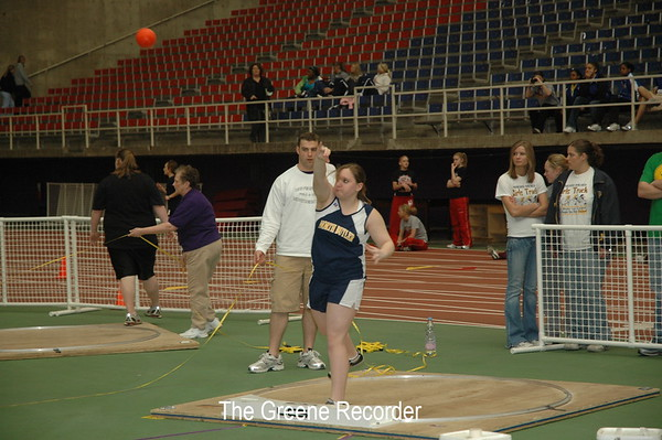 Girls State Indoor Meet