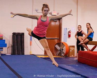 Gymnastics Practice 11/14/17