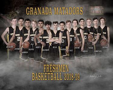 GHS Freshmen Basketball 2018-19