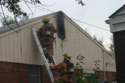 House Fire 1028 N. Christine (6/28/06)