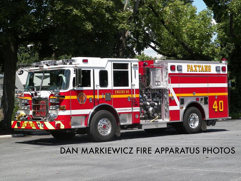 PAXTANG FIRE CO. ENGINE 40 2011 PIERCE PUMPER