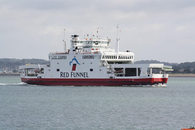 SOUTHAMPTON, ISLE OF WIGHT & SOUTH OF ENGLAND RMSP CO., Southampton (RED FUNNEL LINE).